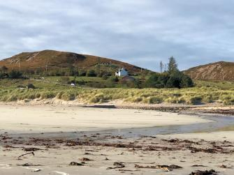 View of Tigh Beag from the beach
