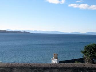 View over Gairloch bay towards Skye