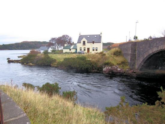The Stables and River Ewe