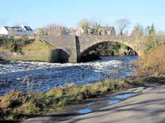 The bridge over the river Ewe