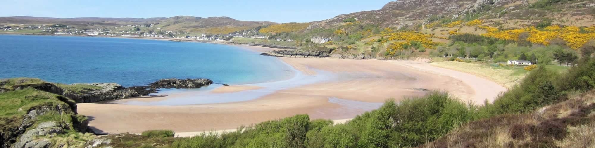 A view over Gairloch